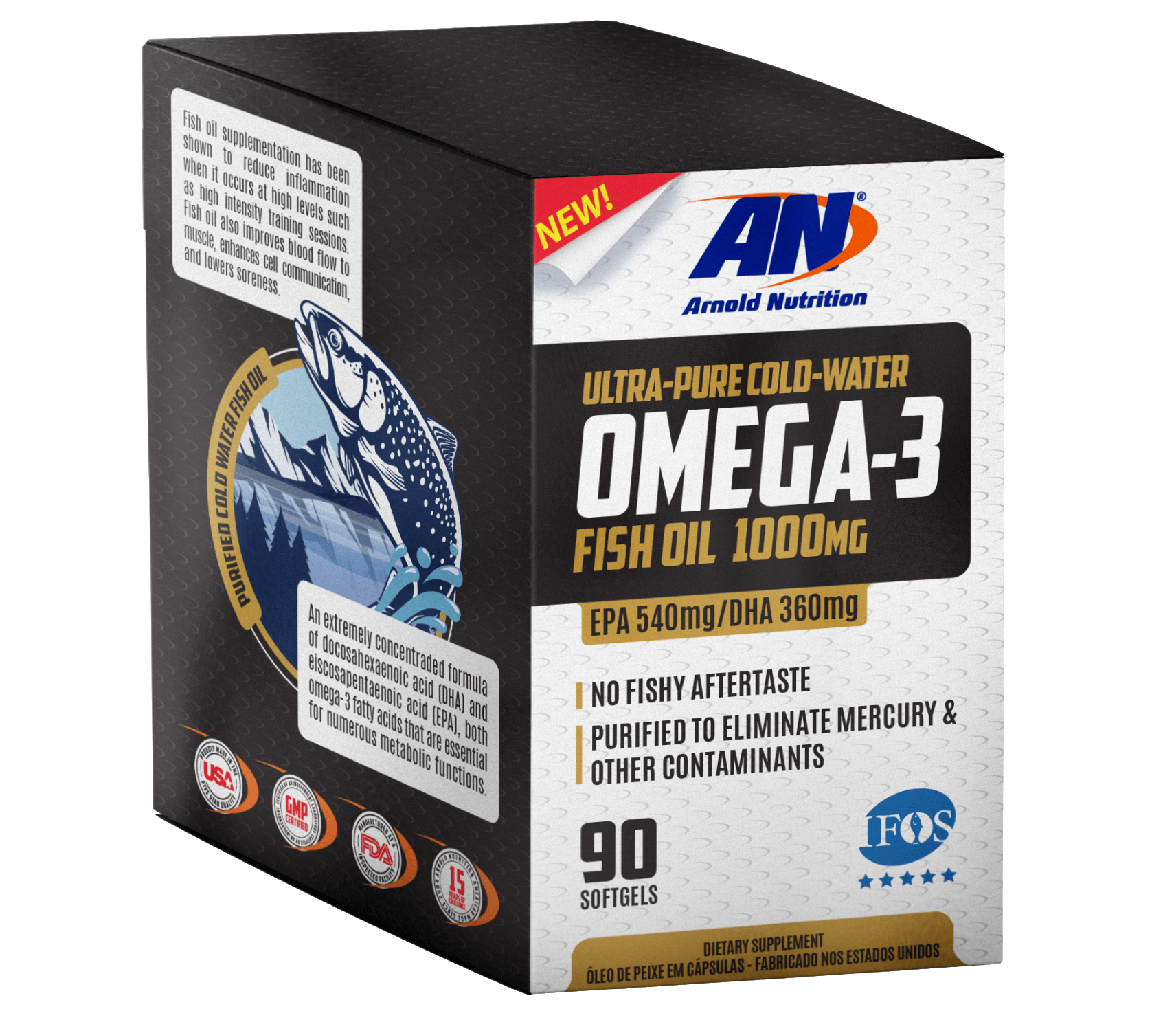 omega-3 top therm norwegian aracy arnold nutrition